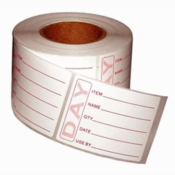 PREPPED PRODUCT LABELS & DISPENSING BOX