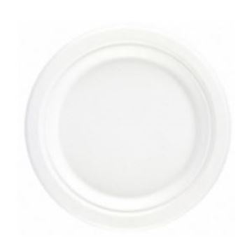 "6"" BAGASSE ROUND PAPER PLATE"