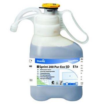 multi-purpose cleaner , SmartDose, TASKI Sprint 200, water-resistant hard surfaces cleaner, Hard surface cleaner