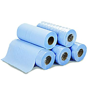 "Picture of 10"" 2ply BLUE HYGIENE ROLL 24x50m