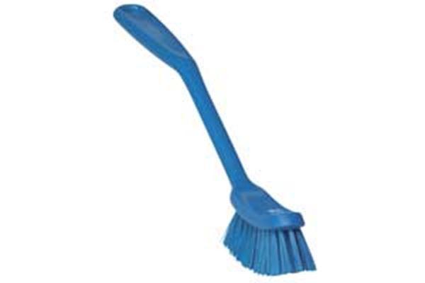 """Picture of 10.25"""" VIKAN DISH BRUSH - BLUE"""