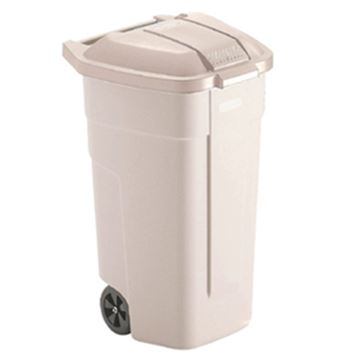 Picture of 100lt BEIGE BIG WHEEL CONTAINER