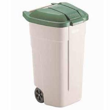 100lt GREEN BIG WHEEL CONTAINER