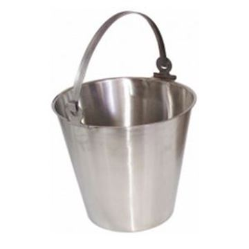 STAINLESS STEEL BUCKET - PLAIN