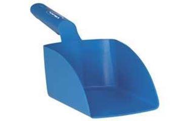 1lt Shatterproof Poly Scoop 35x10cm - Blue