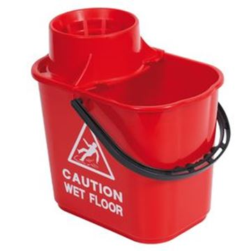 15lt EXEL MOP BUCKET - RED