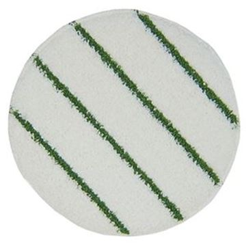QUEEN CARPET BONNET MOP GREEN STRIPE