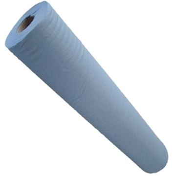 "Picture of 20"" 2ply BLUE HYGIENE ROLL 9x50m100% RECYCLED50071"