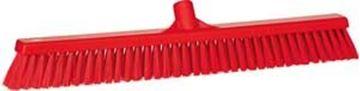 VIKAN PLATFORM BRUSH STIFF/SOFT - RED