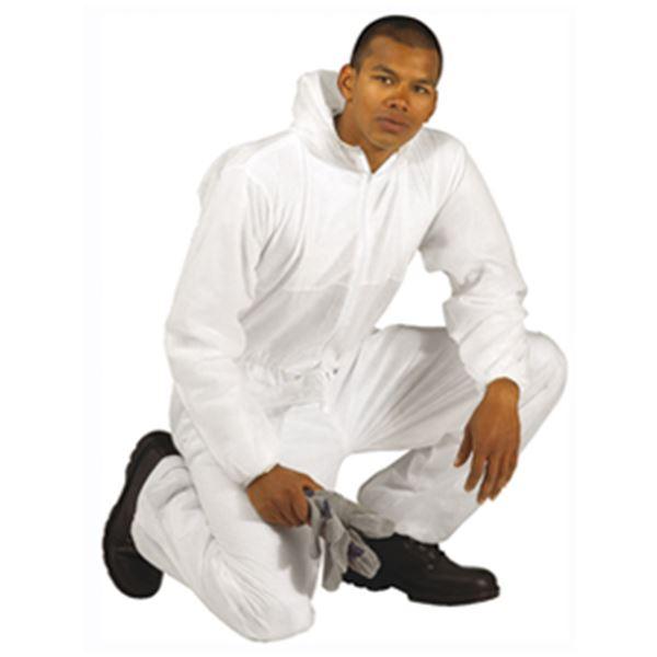 Picture of 2523 Disposable Boiler Suit c/w Hood XXXLarge
