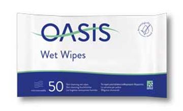Picture of 25pks x50 OASIS MOIST SKIN WIPES-REFILS