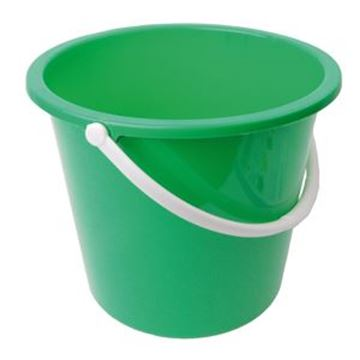 GRADUATED BUCKET PLASTIC - GREEN