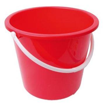 GRADUATED BUCKET PLASTIC - RED