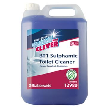 Picture of 2x5lt C&C  BT1 SULPHAMIC TOILET CLEANER
