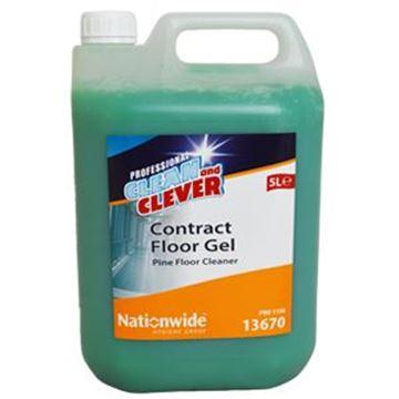 CLEAN & CLEVER CONTRACT FLOOR GEL