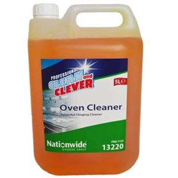 CLEAN & CLEVER OVEN CLEANER