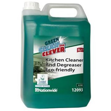 GREEN & CLEVER KITCHEN DEGREASER