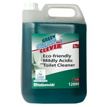GREEN & CLEVER MILD TOILET CLEANER