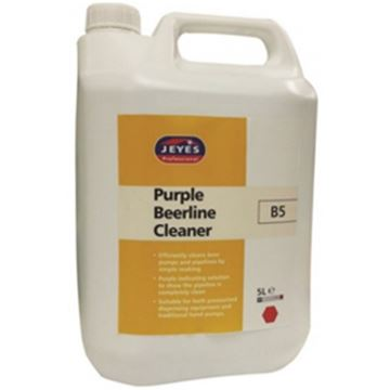 Picture of 2x5lt JEYES B5 PURPLE BEERLINE CLEANER