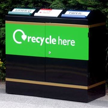 Picture of 300lt TERRRACE RECYCLING BIN