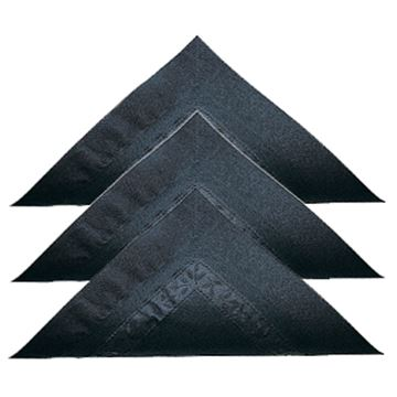Picture of 33cm 2ply BLACK NAPKINS x2000