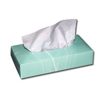 CLOUDSOFT 2ply WHITE FACIAL TISSUE