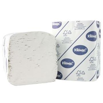 Kleenex® 27 Folded Toilet Tissue 4477 - 27 packs x 260 white, 2 ply sheets
