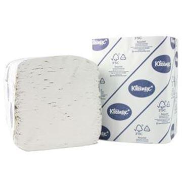 Kleenex® 27 Folded Toilet Tissue 4477 - 27 packs x 260 white, 2 ply sheets