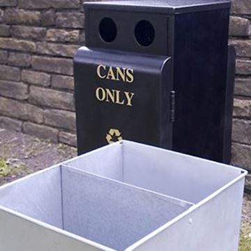 Picture of 50/50lt VALLEY RECYCLING BIN