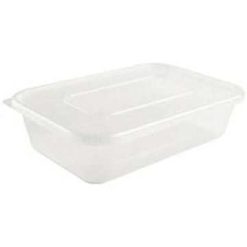 MICROWAVE PLASTIC CONTAINER & LIDS