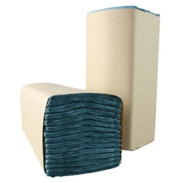 Picture of 6806 HOSTESS BLUE 1ply CFOLD TOWEL x403232651