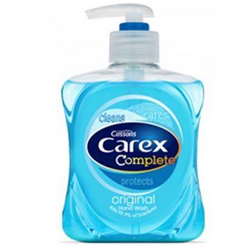 Picture of 6x500ml CAREX ORIGINAL ANTIBAC HAND WASH SOAP