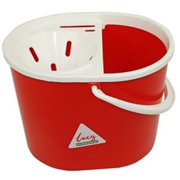 SYR OVAL MOP BUCKET - RED