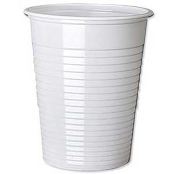 NON VENDING WHITE DRINKING CUP