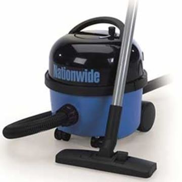 Nationwide Tub Vac Rewind Top - Blue