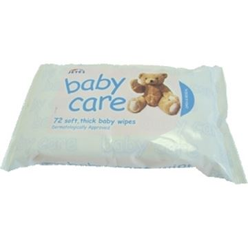 Picture of BABY WIPES 72 Per Pack
