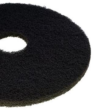 "BLACK 15"" CONTRACT FLOOR PADS"
