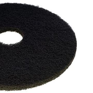 "BLACK 17"" CONTRACT FLOOR PADS"