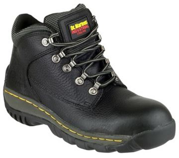 Picture of Black D.Martens Hiker Style Pad Top S9