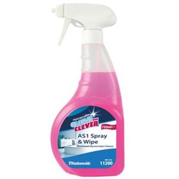Picture of C&C AS1 SPRAY & WIPE - TRIGGERBactericidal Cleaner