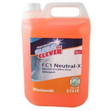 Clean and Clever FC1 NEUTRAL-X SCRUBBER DRIER DETERGENT