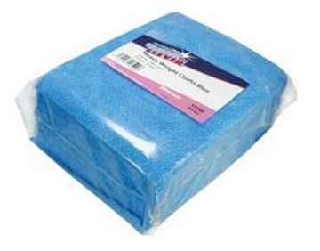Clean and Clever Heavyweight Blue Antibac Cloths