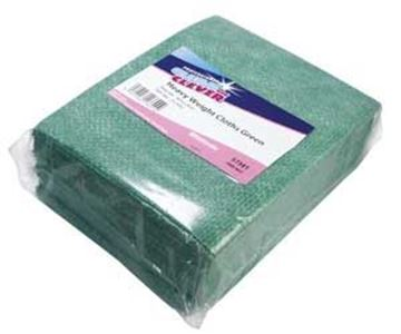 Clean and Clever Green Heavyweight Antibac Cloths