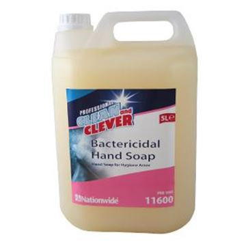 CLEAN & CLEVER BACTERICIDAL HAND SOAP