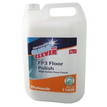 CLEAN & CLEVER FP3 FLOOR POLISH 18% Active