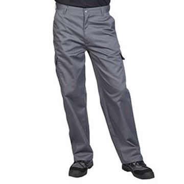 COMBAT TROUSERS REGULAR LEG - GREY