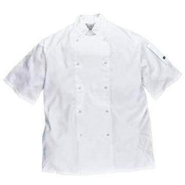 Cumbria Chefs Jacket - White