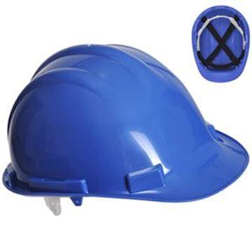 ENDURANCE ABS SAFETY PLUS HELMET - BLUE