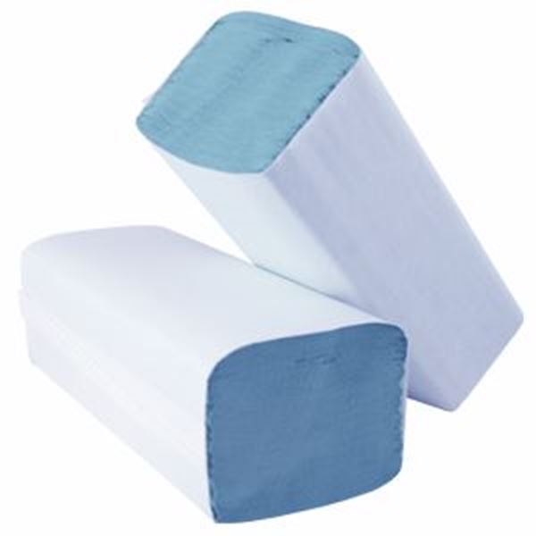 Essentials 1ply BLUE IFOLD TOWEL
