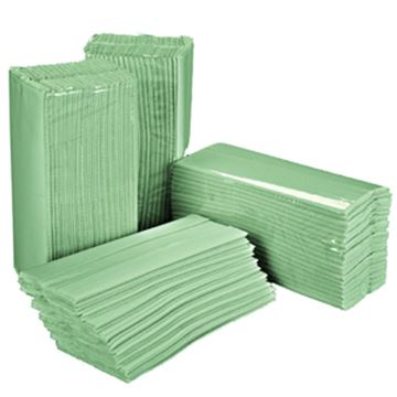 Picture of ESSENTIALS 1ply CFOLD TOWEL x2560 - GREEN